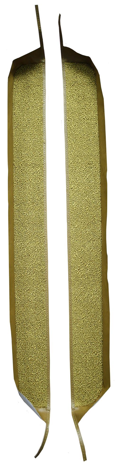 1967 Pontiac Firebird Door Panel Replacement Carpet - Loop | Fits: Inserts with Binding
