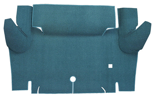 1965-1966 Ford Mustang Trunk Mat - Loop | Fits: Coupe, Trunk Kit Floor Only