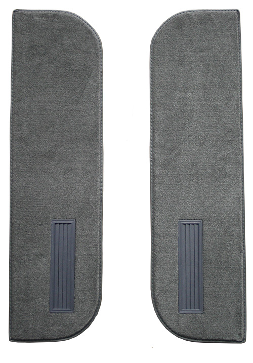 1973 Chevy K10 Pickup Door Panel Replacement Carpet - Loop | Fits: Inserts on Cardboard w/Vents