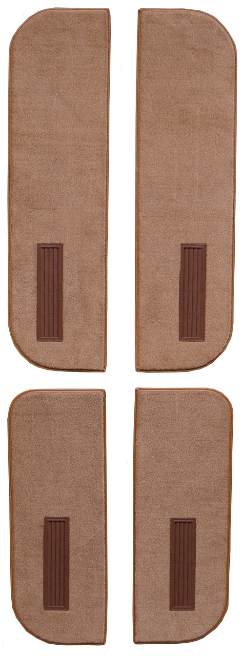 1973 Chevy C10 Suburban Door Panel Replacement Carpet - Loop | Fits: Inserts on Cardboard w/Vents