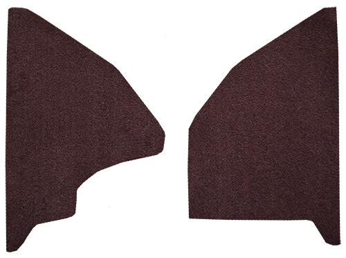 1975-1979 Ford F-150 Kick Panel Carpet Replacement - Cutpile | Fits: Inserts
