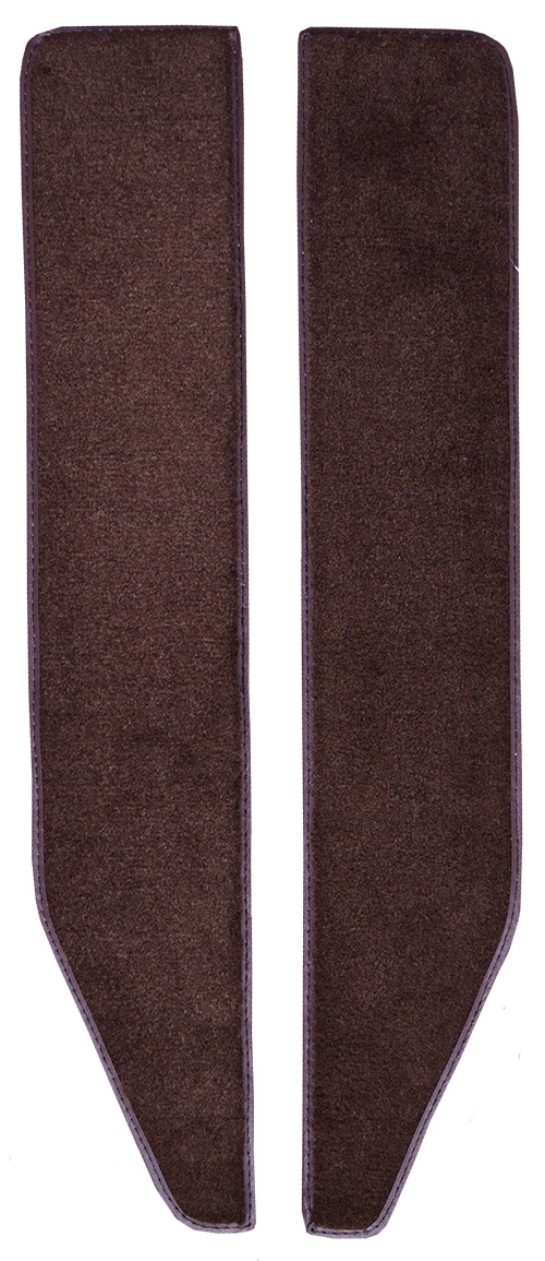 1973 Ford F-100 Door Panel Replacement Carpet - Loop | Fits: Inserts with Cardboard