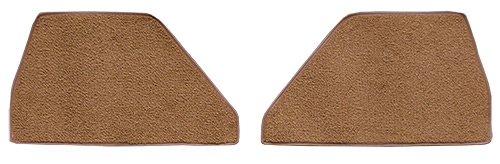 1948-1952 Ford F4 Kick Panel Carpet Replacement - Loop | Fits: Inserts without Cardboard