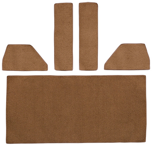 1948 Ford F4 Rear Cab Wall Carpet Replacement | Fits: Rear Cab Wall Door & Kick Panels