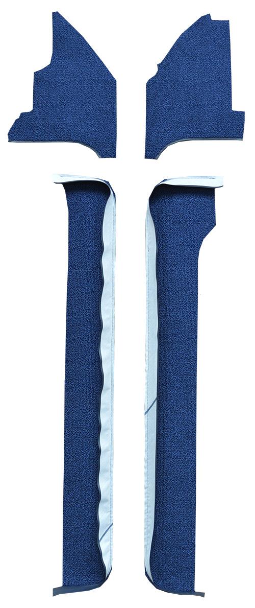 1967 Ford Thunderbird Door Panel Replacement Carpet - Loop | Fits: Door & Kick Panel Inserts