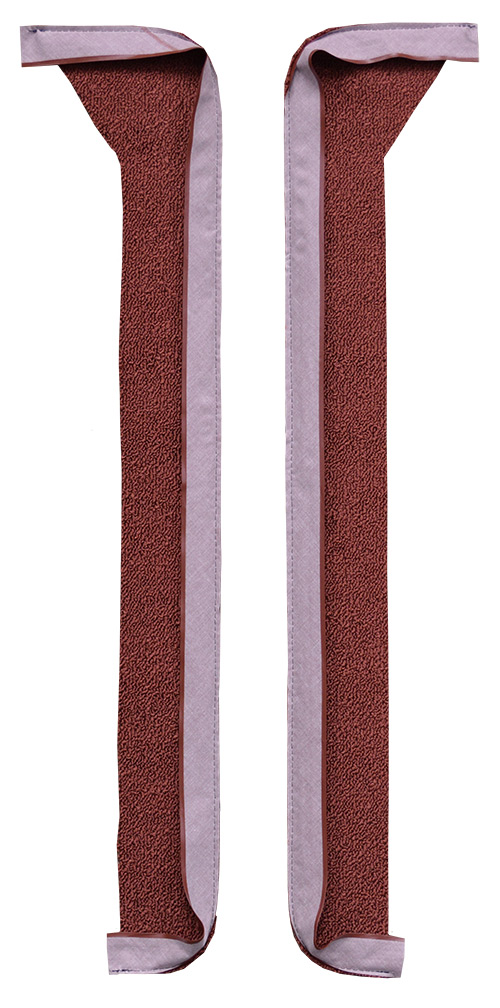 1969-1970 Cadillac DeVille Door Panel Replacement Carpet - Loop | Fits: Coupe Inserts without Cardboard