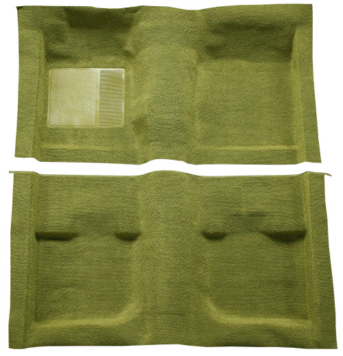 1971-1973 Ford Mustang Carpet Replacement - Nylon - Complete | Fits: Fastback, without Folddowns