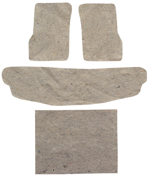 1997-2006 Jeep Wrangler TJ Jute Replacement Padding Kit