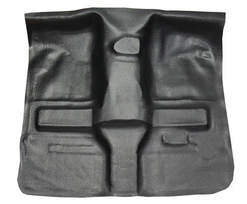 1997-2006 Jeep Wrangler Carpet Replacement - TJ - Vinyl - Passenger Area