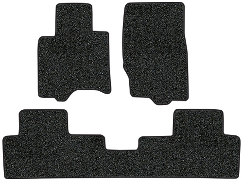 2009-2012 Fits Infiniti FX35 Floor Mats - 3pc - Cutpile | Fits: 2pc Frts & 1pc Rr