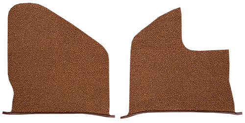 1961-1962 Chevy Impala Kick Panel Carpet Replacement - Tuxedo | Fits: with Air, Inserts