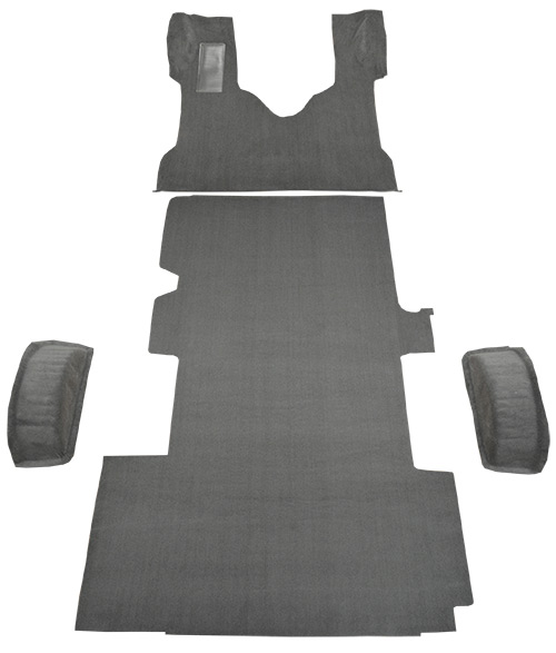 1999-2014 Ford E-350 Super Duty Carpet Replacement