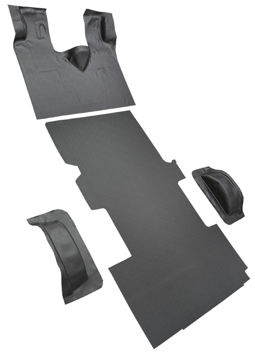 1992-1996 Ford E-350 Econoline Carpet Replacement - Complete - Vinyl | Fits: Ext, Gas or Diesel