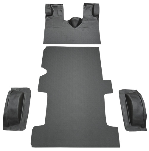 1992-1996 Ford E-250 Econoline Carpet Replacement - Complete - Vinyl | Fits: Reg, Gas or Diesel