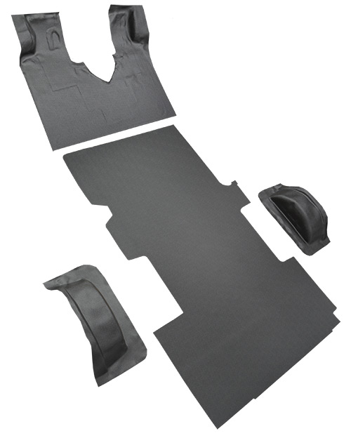 2003-2014 Ford E-250 Carpet Replacement - Complete - Vinyl | Fits: Ext Van, Gas or Diesel