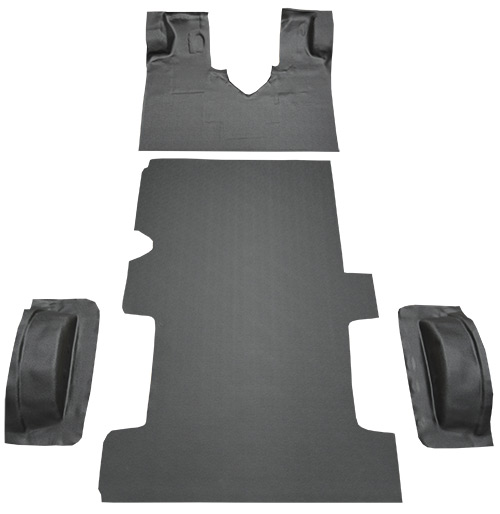 2003-2005 Ford E-350 Club Wagon Carpet Replacement - Complete - Vinyl | Fits: Reg, Gas or Diesel