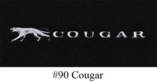 1970 1973 Mercury Cougar Floor Mats 4pc Nylon