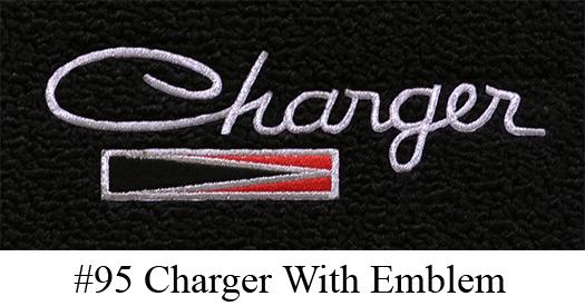 1966-1970 Dodge Charger Floor Mats - 4pc - Loop | Fits: 4spd