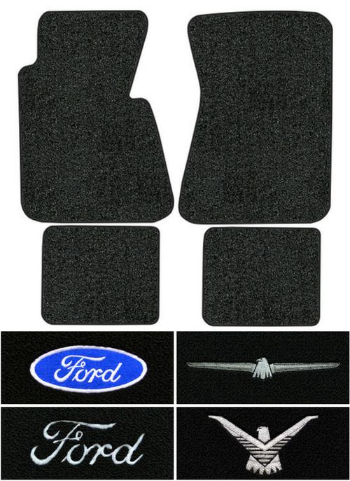 Ford Thunderbird Floor Mats Factory Interiors
