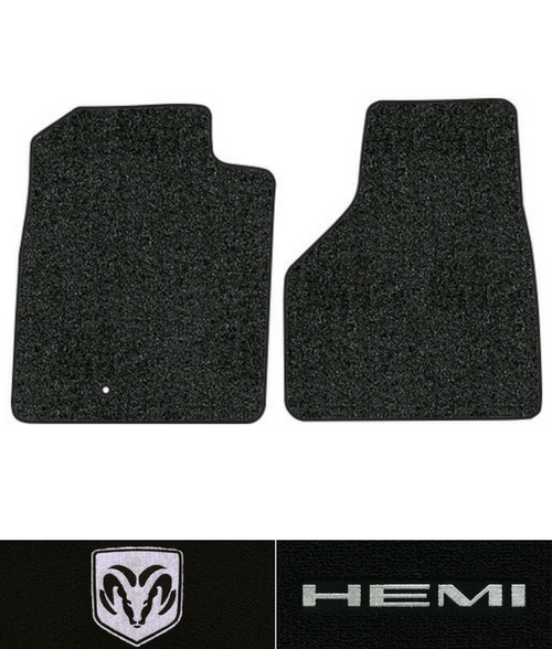 2002-2005 Dodge Ram 1500 Floor Mats - 2pc - Cutpile | Fits: Regular Cab