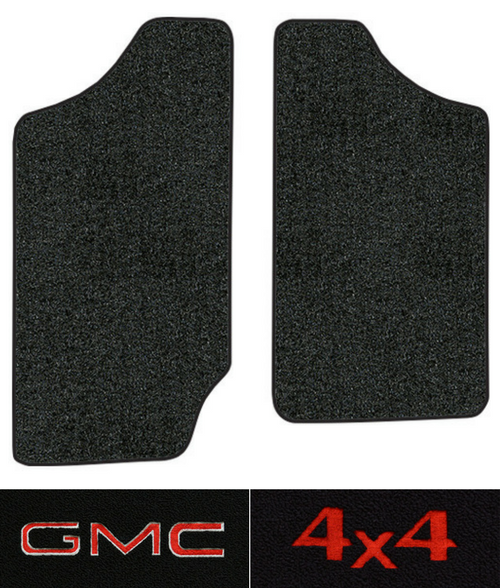 1991-1993 GMC Sonoma Floor Mats - 2pc - Cutpile
