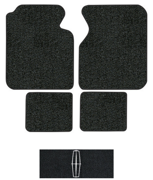 1995 1997 Lincoln Continental Floor Mats 4pc Cutpile
