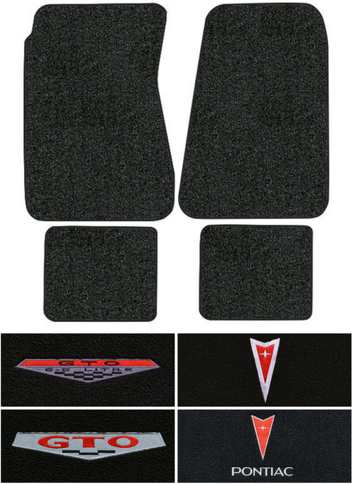 1966 1967 Pontiac Gto Floor Mats 4pc Loop Fits Auto Factory Interiors