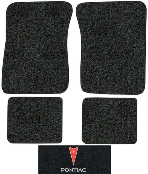 1987 1991 Pontiac Bonneville Floor Mats 4pc Cutpile