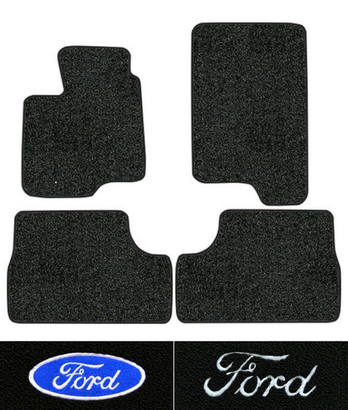 1997-2002 Ford Expedition Floor Mats - 4pc - Cutpile