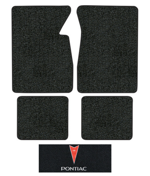 1962-1964 Pontiac Grand Prix Floor Mats - 4pc - Loop