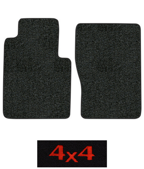 1976-1980 International Scout II Traveler Floor Mats - 2pc Front - Cutpile