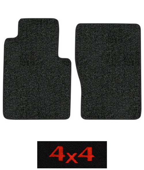 1972-1973 International 1010 Travelall Floor Mats - 2pc Front - Loop