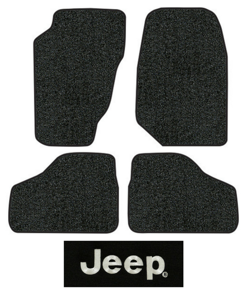 8078-Dark Grey Plush Cut Pile Passenger Area ACC Replacement Carpet Kit for 2002 to 2007 Jeep Liberty