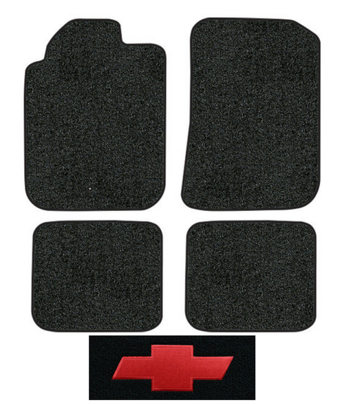 2006 2011 chevy hhr floor mats 4pc cutpile factory. Black Bedroom Furniture Sets. Home Design Ideas