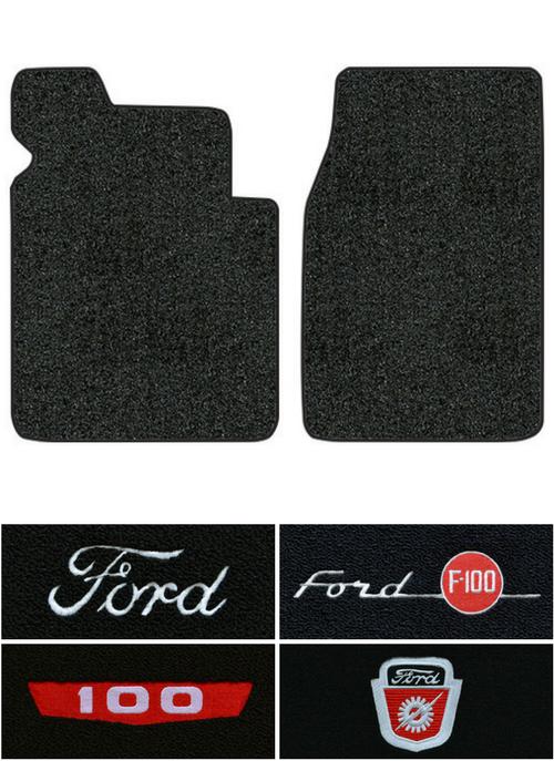 Ford F  Floor Mats Pc Loop