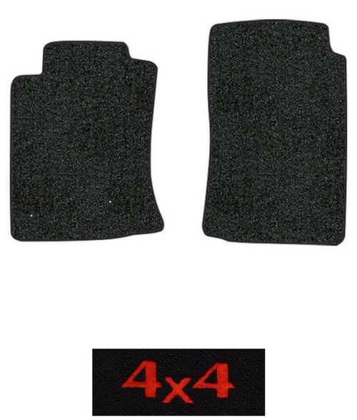 2010 2015 toyota tacoma floor mats 2pc cutpile fits. Black Bedroom Furniture Sets. Home Design Ideas