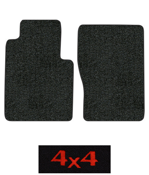 1974-1975 International 200 Floor Mats - 2pc - Loop | Fits: Regular Cab