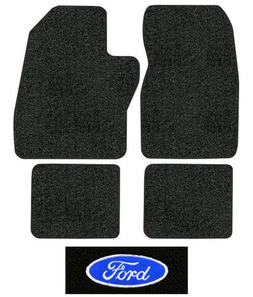 1988 1997 Ford F 250 Floor Mats 4pc Cutpile Fits Crew Cab Factory Interiors