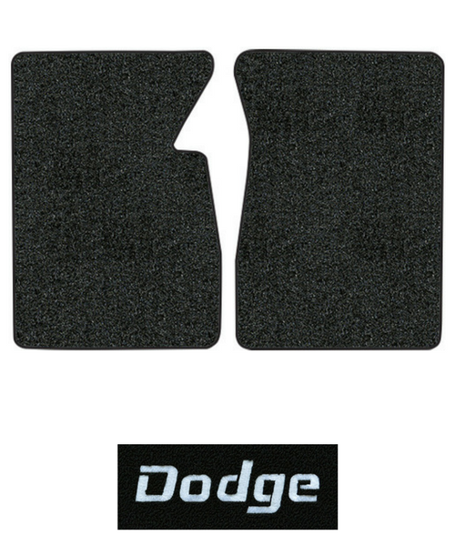 1974 Dodge W100 Pickup Floor Mats - 2pc - Cutpile