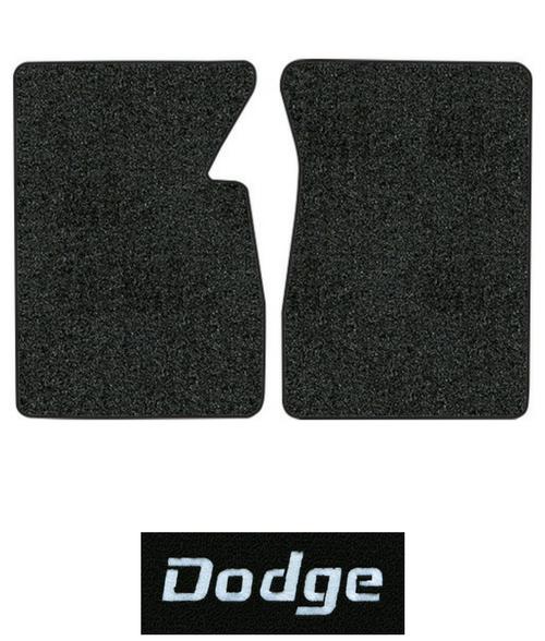 1974-1978 Dodge Charger Cutpile Carpet Logo Floor Mat 4pc