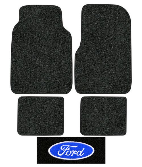 Ford F  Floor Mats Pc Cutpile Fits Crew Cab