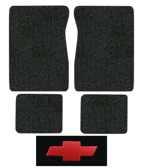 1974 Chevy C30 Pickup Floor Mats - 4pc - Cutpile | Fits: Crew Cab