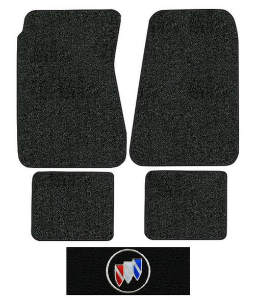 1968-1969 Buick GS 400 Floor Mats - 4pc - Loop | Fits: Auto