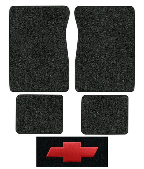 1974 Chevy Blazer Floor Mats 4pc Cutpile Factory Oem