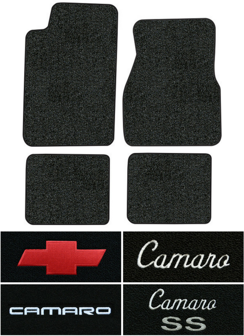 1993-2002 Chevy Camaro Floor Mats - 4pc - Cutpile