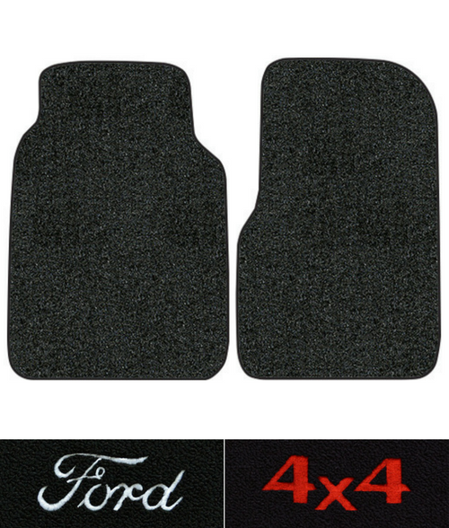 1980-1987 Ford F-150 Floor Mats - 2pc - Cutpile