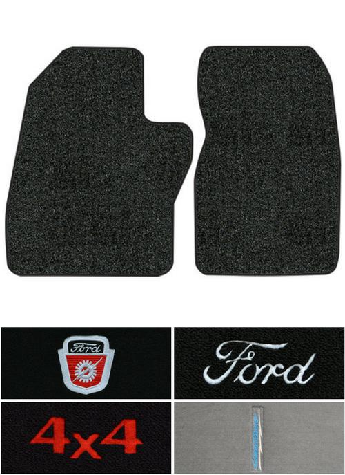 1988 1996 Ford F 150 Floor Mats 2pc Cutpile Fits Regular Cab Factory Interiors