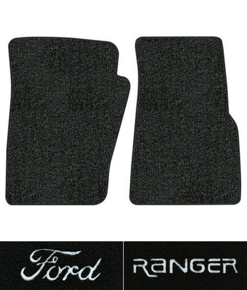 1986 2011 Ford Ranger Floor Mats 2pc Cutpile Fits