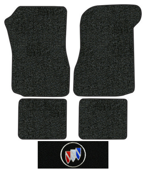 1974 1977 Buick Regal Floor Mats 4pc Cutpile Factory