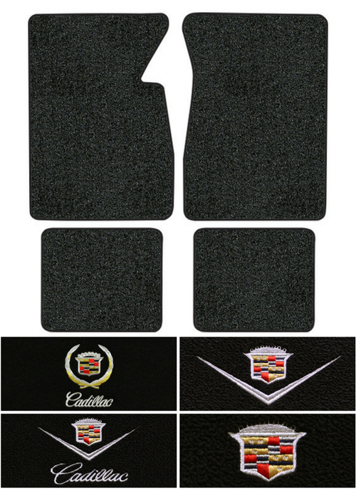 1965-1970 Cadillac DeVille Floor Mats - 4pc - Loop | Fits: 2DR, Coupe, Convertible